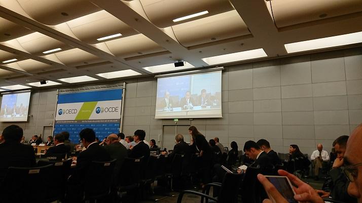 108年OECD競爭委員會6月例會實況