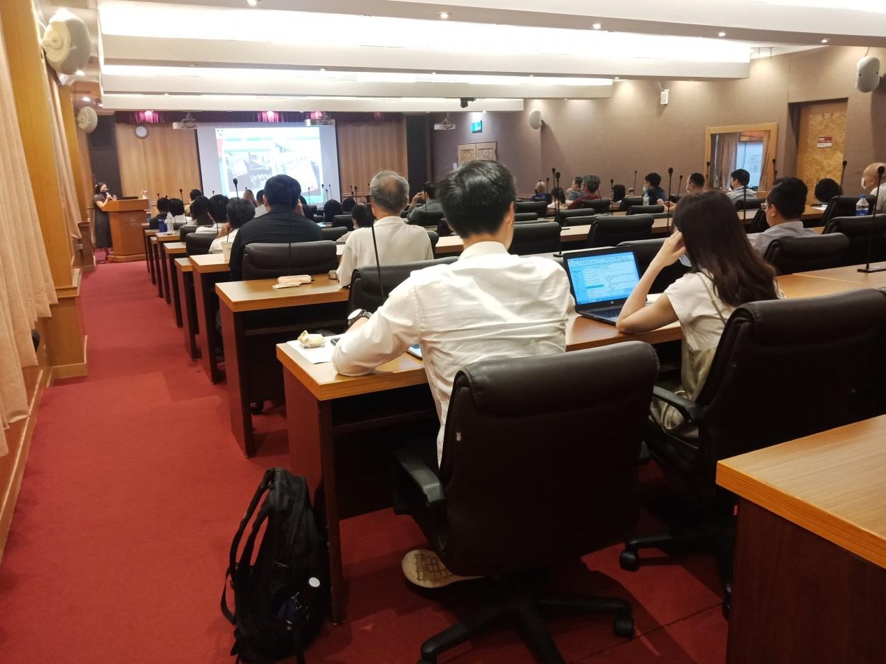 1090818派員擔任臺北市政府協辦之「公平交易委員會對於網路廣告之規範與案例說明會」講師