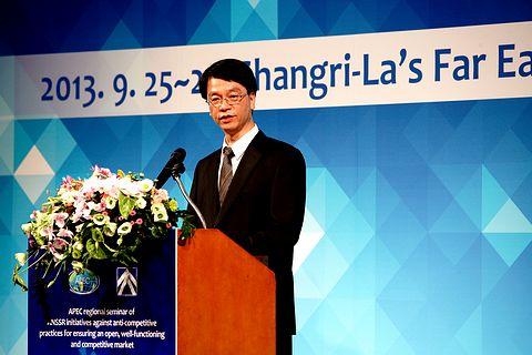 公平會吳前主任委員秀明於「2013年APEC競爭政策訓練課程」致歡迎詞(一)