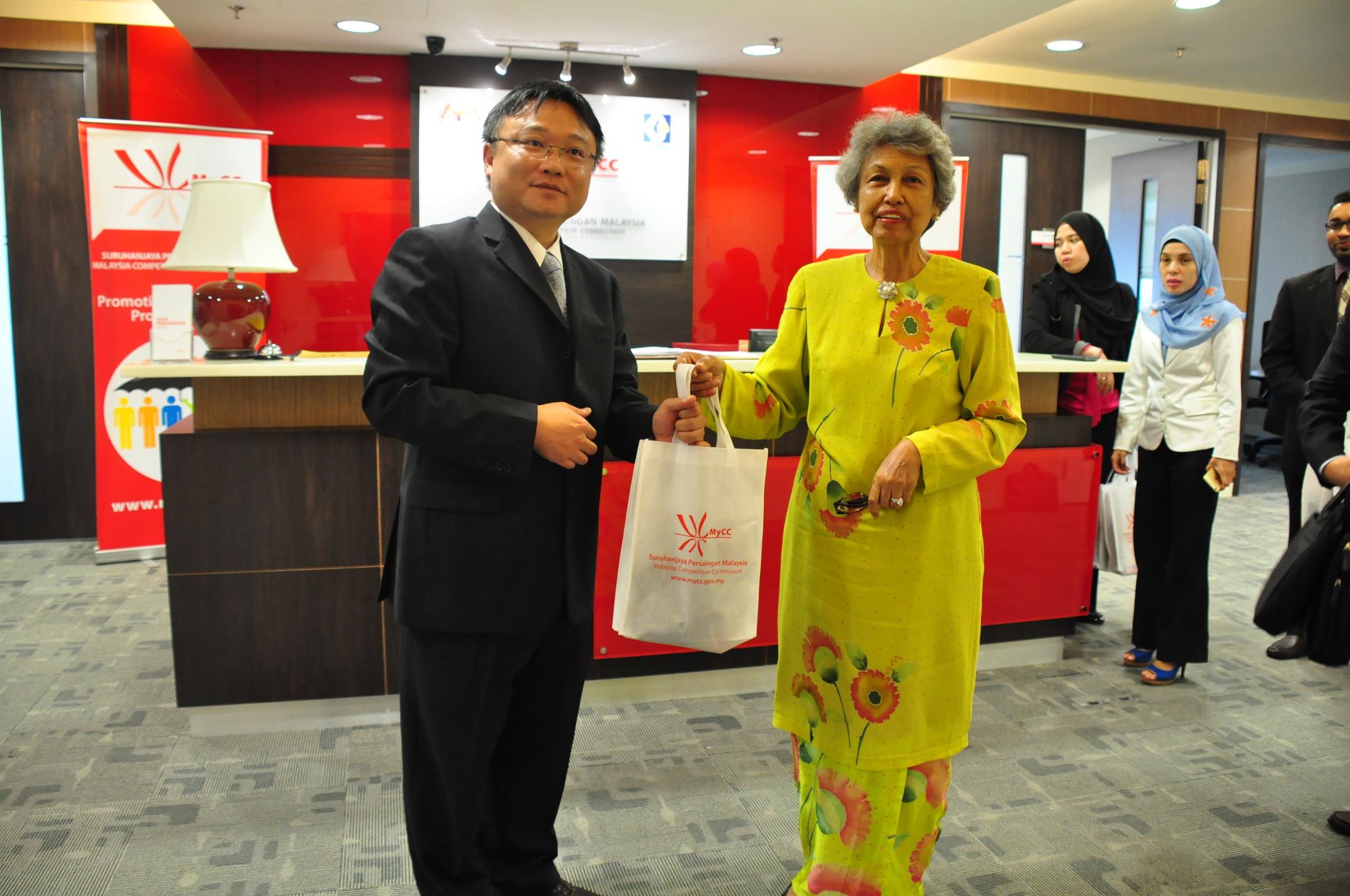 張委員拜會馬來西亞競爭委員會