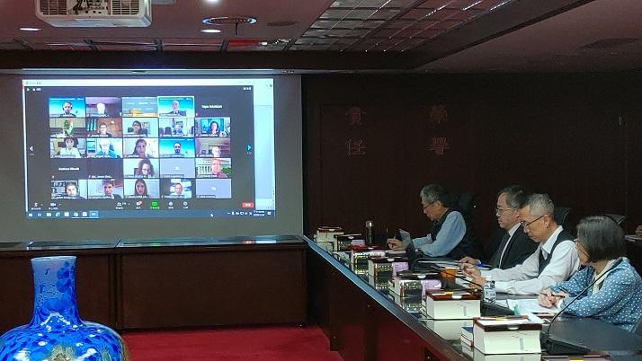 2020年OECD「競爭委員會」11月例會視訊現場